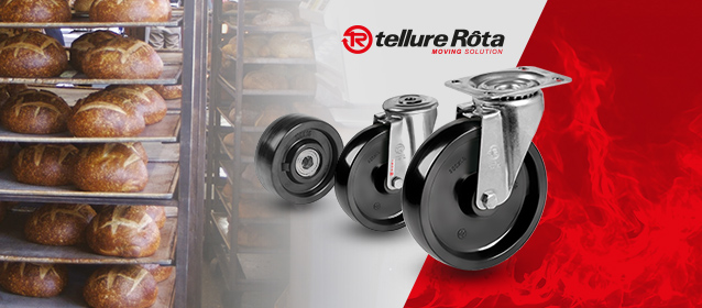 Tellure Rota - Hőálló ipari kerekek raktárról