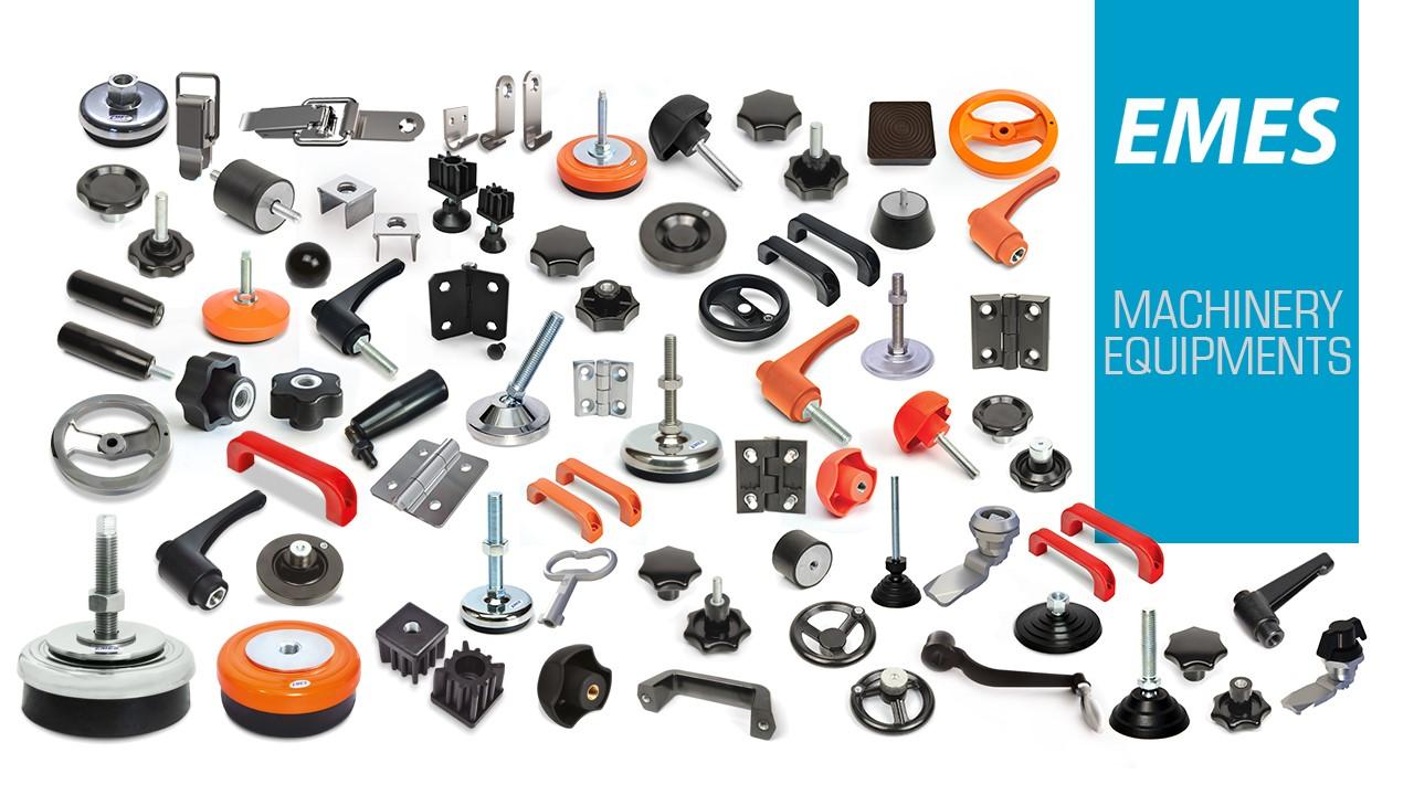 EMES gépépítő elemek